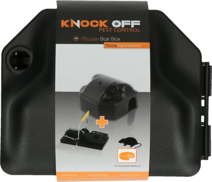 Knock Off Baitbox Mouse with trap + key