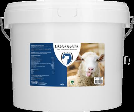 Lickbucket Goldlik sheep/lamb